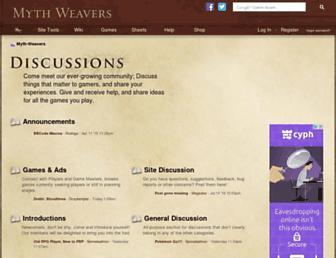 Thumbshot of Myth-weavers.com
