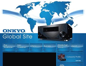 Thumbshot of Onkyo.com