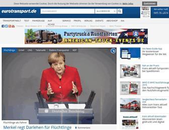 eurotransport.de screenshot
