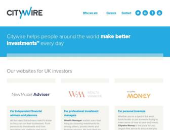 Thumbshot of Citywire.co.uk