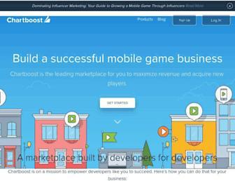 chartboost.com screenshot