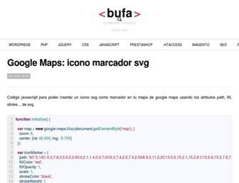 Thumbshot of Bufa.es