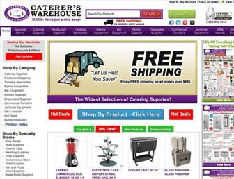 catererswarehouse.com screenshot