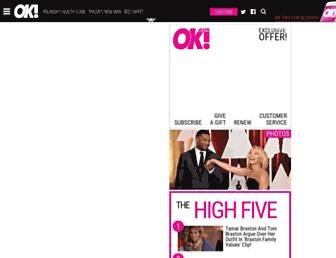 okmagazine.com screenshot
