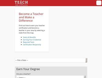 teach.com screenshot
