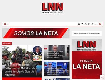 lanetanoticias.com screenshot