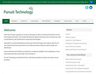 pursuittechnology.co.uk screenshot