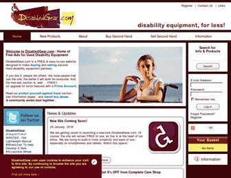 disabledgear.com screenshot