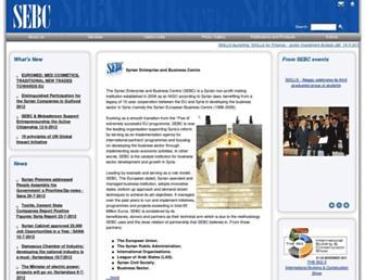 sebcsyria.com screenshot