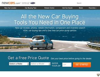 newcars.com screenshot