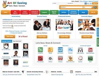 Thumbshot of Artofsaving.com