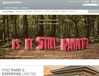 Thumbshot of Benjaminmoore.com
