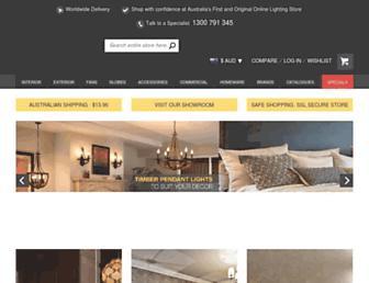 onlinelighting.com.au screenshot