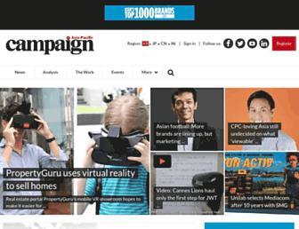 campaignasia.com screenshot