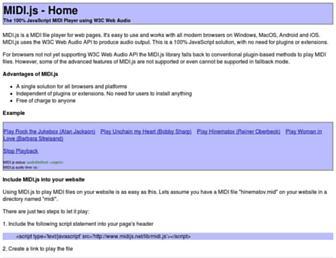 midijs.net screenshot