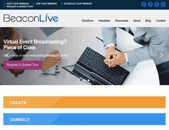 beaconlive.com screenshot