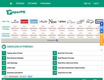 Thumbshot of Paperpkblog.com