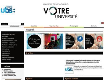 univ-ubs.fr screenshot