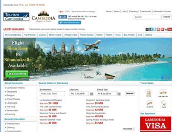 tourismcambodia.com screenshot