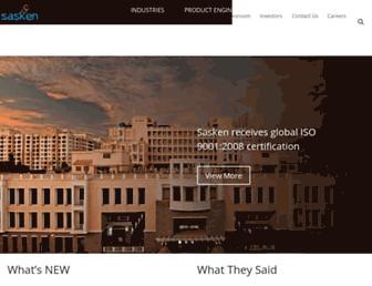 Thumbshot of Sasken.com