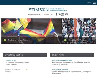 Thumbshot of Stimson.org