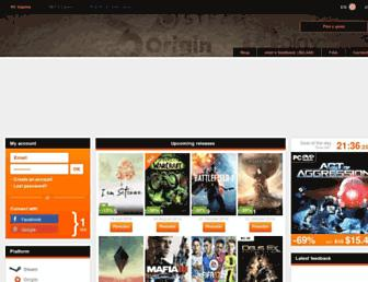 Thumbshot of Instant-gaming.com