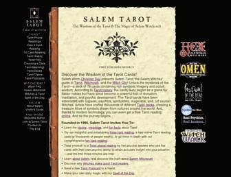 salemtarot.com screenshot