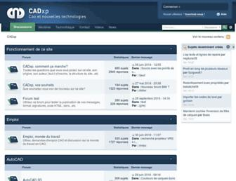 cadxp.com screenshot
