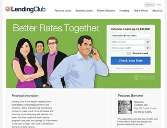 Thumbshot of Lendingclub.com