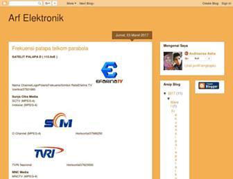 andreansaashaarfelektronik.blogspot.com screenshot