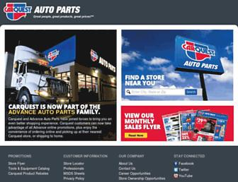 carquest.com screenshot