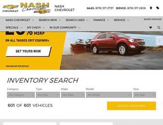 nashchevy.com screenshot