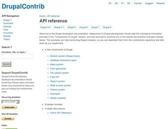 Thumbshot of Drupalcontrib.org
