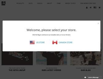 landyachtz.com screenshot