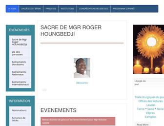diocese-cotonou.org screenshot