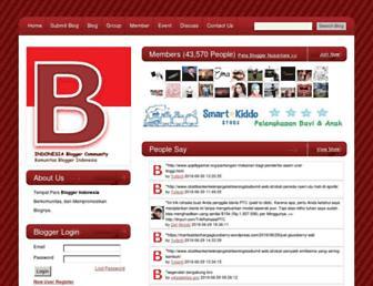 indonesia-blogger.com screenshot