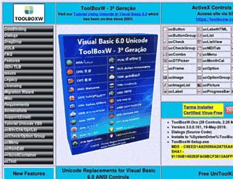 toolboxw.com screenshot
