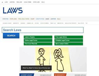 Thumbshot of Laws.com