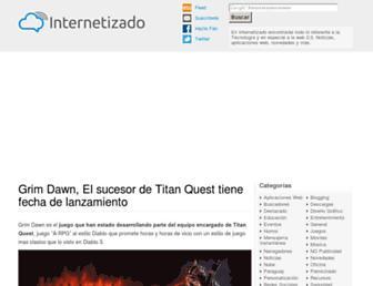 internetizado.com screenshot