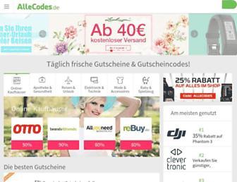 Thumbshot of Allecodes.de