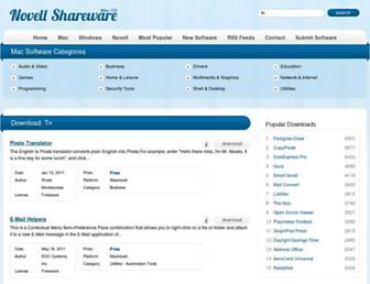tn.mac.novellshareware.com screenshot