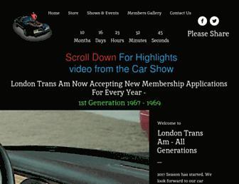 londontransam.com screenshot