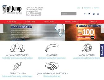 highjump.com screenshot