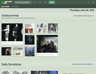 deviantart.com screenshot