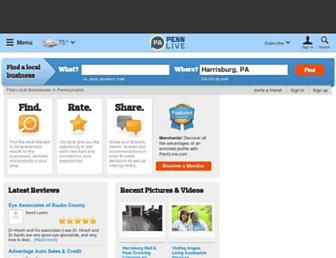 businessfinder.pennlive.com screenshot