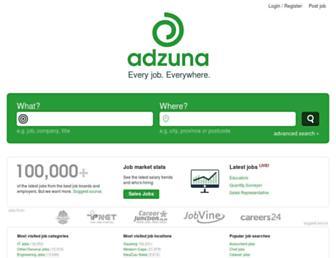 adzuna.co.za screenshot
