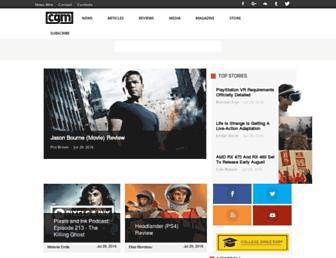 cgmagonline.com screenshot