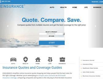 einsurance.com screenshot