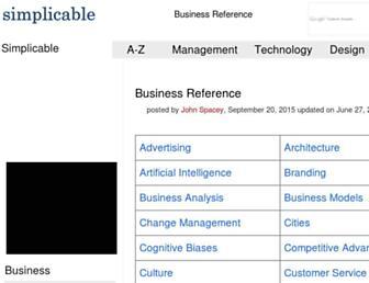 simplicable.com screenshot