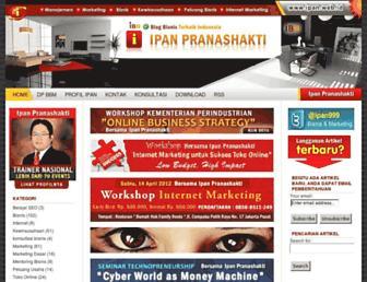 ipan.web.id screenshot